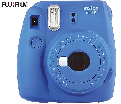 Fujifilm Instax Mini 9, blå