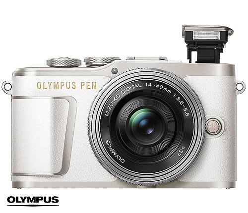Olympus Systemkamera, vit