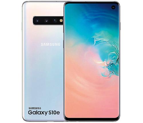 Samsung Galaxy S10e, vit