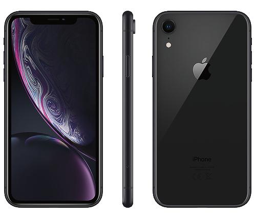 IPhone XR, 64GB, svart