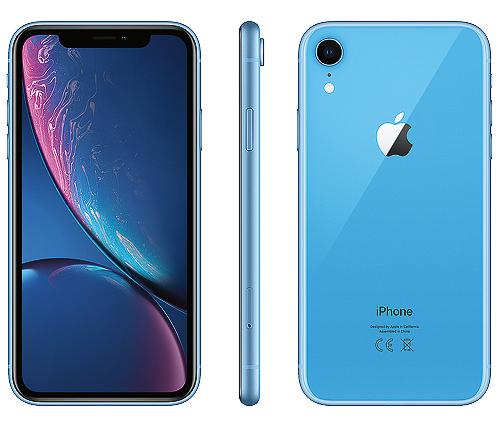 IPhone XR, 64GB, blå