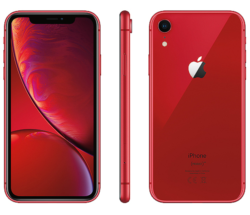 IPhone XR, 64GB, röd