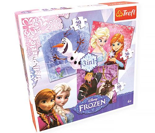 Frost, pussel och memo