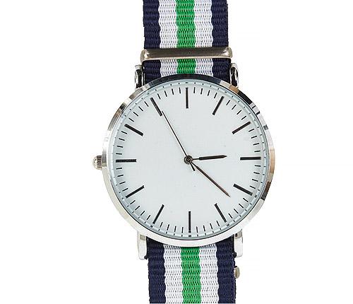 Klocka - grön, blå