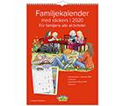 Familjekalender med Stickers