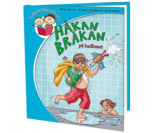 Håkan Bråkan på badhuset