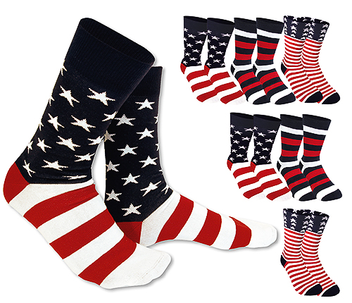 Stars & Stripes 6 pack stl 36-40