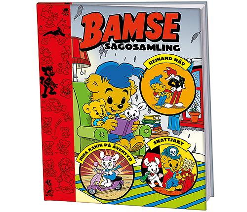 Bamse: Sagosamling tre i en