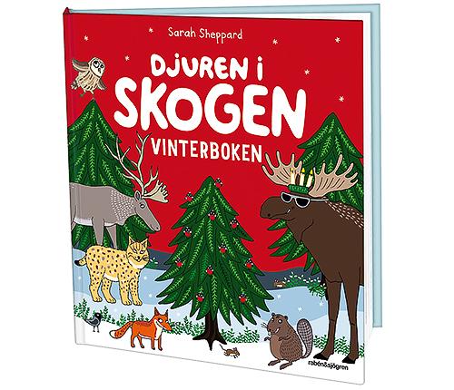 Djuren i skogen - Vinterboken